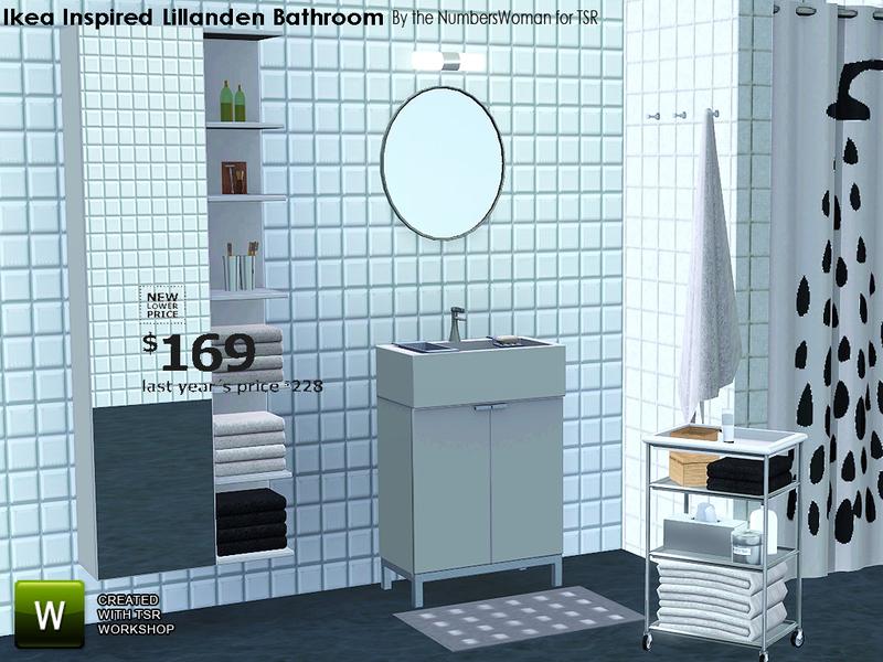TheNumbersWomans Ikea Inspired Lillanden Bathroom