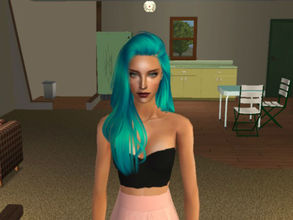 Sims 2 — Erene by renegaderunway — Keyboard connoisseur of the up and coming indie rock band, The Bubblegums.