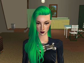 Sims 2 — Katrine by renegaderunway — Bass guitarist for the new indie rock band The Bubblegums.