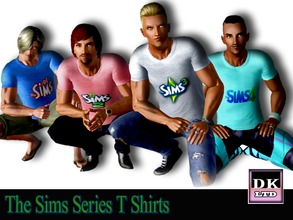 Sims 3 — The Sims Series T Shirts  by DK_LTD — Short-sleeved sims series t shirt for the guys. I decided to create these