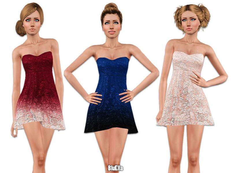 Mini Lace Prom Dresses