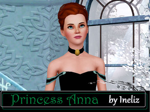 Sims 3 — Princess Anna by Ineliz — The road of dangerous and magical adventure is waiting for you! Try to find an ice