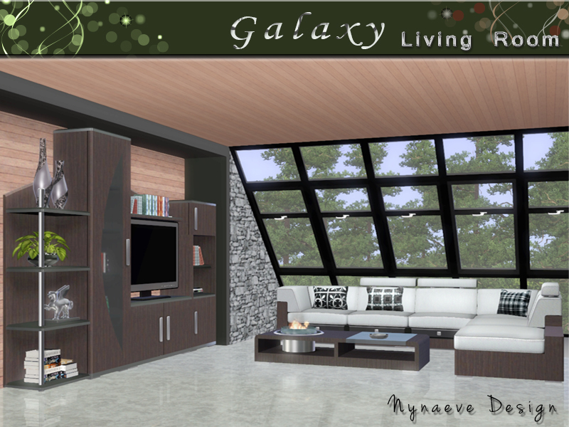 NynaeveDesigns Galaxy Living Room