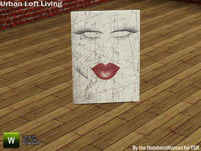 Sims 3 — Modern Urban Rustic Loft Living Floor Picture One by TheNumbersWoman — Urban life, urban times, urban living.The