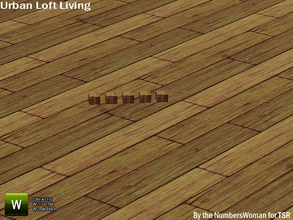 Sims 3 — Modern Urban Rustic Loft Living Candle Holder by TheNumbersWoman — Urban life, urban times, urban living.The