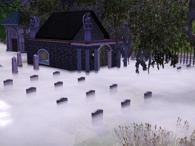 Alex Kaye S Spike S Crypt Sunnydale Graveyard Part 4