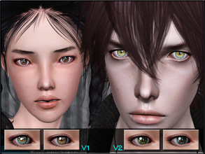 Sims 3 — EyeSet20 by Shojoangel — Hi everybody...recolorable (4 channels)..these are colorful and shiny eyes, all
