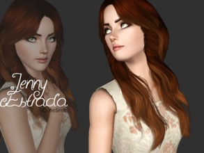 "Sims 3 — Jenny Estrada by Cute-Sims2 — Jenny Estrada is my very first sim from my ""Model"""