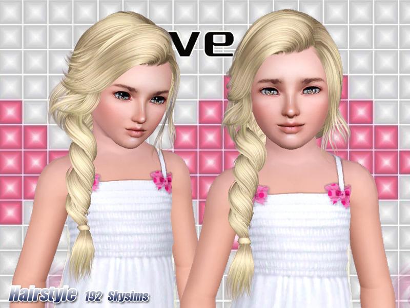 Skysims Hair 192