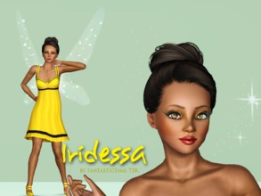 Sims 3 — Iridessa Fairy  by fantasticSims — Iredessa is the Fairy straight from Pixie Hollow. She is eco friendly,