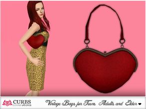 "Sims 3 — curbs bag 06 by Colores_Urbanos — IMPORTANT required EP ""World Adventure"" Bag"