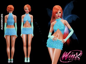 Winx Club S1 Bloom Costume