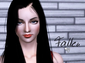 Sims 3 — Fallen Ny by Nisuki —  Fallen is a young lady, pretty much with a free mind and doesn't care what others say