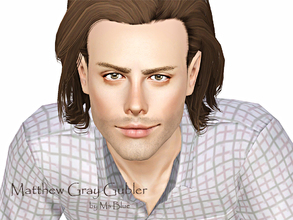 Sims 3 — Matthew Gray Gubler by Ms_Blue — Winner of my [1.000.000 Make a wish competition] is Prudence Warren with her