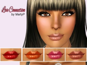 Sims 3 — Love Connection  by MartyP — ~3 recolourable chanels. ~CAS and launcher thumbnail ~For woman young adult and