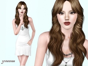 Sims 3 — Katja by yvonnee2 — Katja - beautiful sim lady.She loves music,dance and dreams about family with children.Maybe