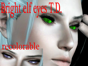 Sims 3 — Bright elf eyes_T.D. by Sylvanes2 — Fantasy eyes for your sims, for male and female, from toddler to elder. They