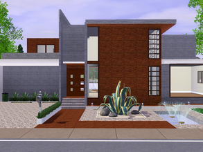 Sims 3 — Navona House by sambot2172 — Navona House, a modern 2-bedroom abode inspired by the house of the same name by JI