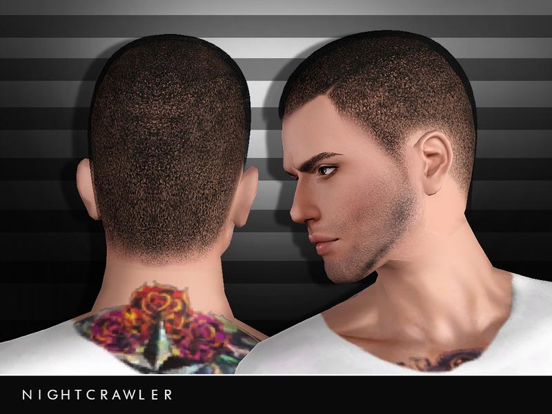 Nightcrawler Sims' Nightcrawler_AM_Hair05