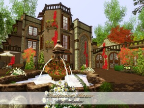 Sims 3 — Guinevere Manor by Pralinesims — EP's required: World Adventures Ambitions Late Night Generations Pets Showtime