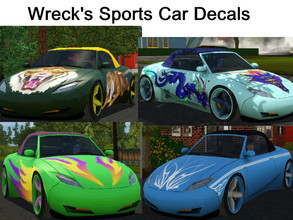 Downloads Sims 3 Object Styles Furnishing Vehicles Cars