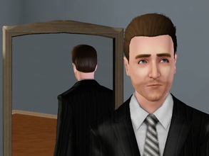 Sims 3 — Edward Norton by Huarencito2 — Yay! This great (and nice) actor deserves a place in The Sims 3 This is my first
