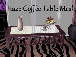 Sims 2 — Haze Coffee Table Mesh by staceylynmay2 — This is the mesh. All recolours are welcome.