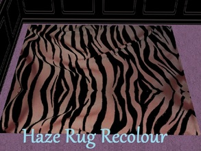 Sims 2 — Haze Rug Recolour by staceylynmay2 — This is the recolour of echos rug.