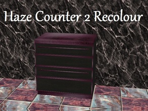 Sims 2 — Haze Counter 2 Recolour by staceylynmay2 — This is a recolour of rylee\'s counter 2 mesh.