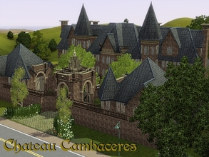Sims 3 — Chateau Cambaceres by orlov — The last of the great Cambaceres family has passed away, leaving this imposing 22