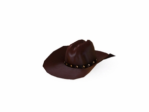 Sims 3 — Winchester Cowboy Hat by Flovv — Something neccessary for a real cowboy!