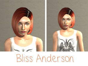 Sims 2 — Bliss Anderson by renegaderunway — This green-eyed beauty is the product of two biracial parents, and has