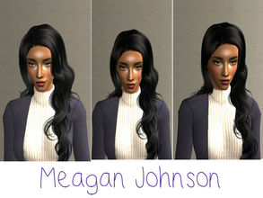 Sims 2 — Meagan Johnson by renegaderunway — Meagan is a Ghanaian-American with parents from both the Fante and Ashanti