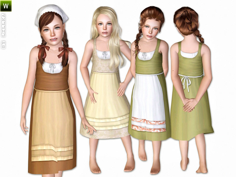 Sims 3 Clothing The Sims Resource | lillka s farm dress