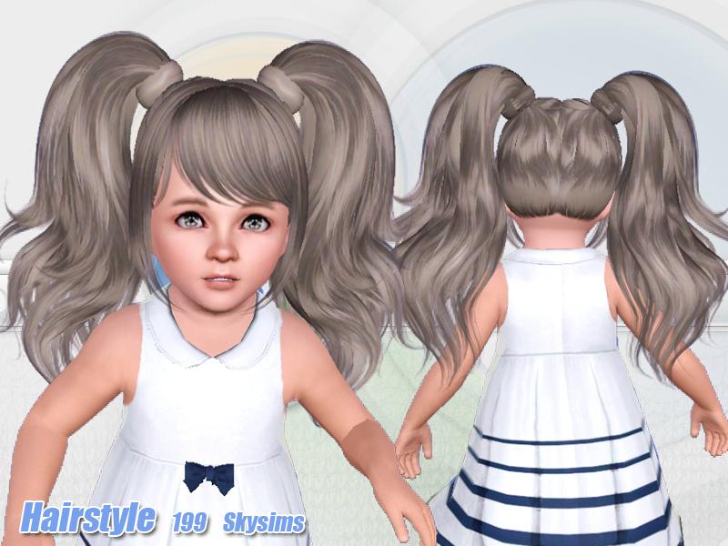 Skysims Hair Toddler 199