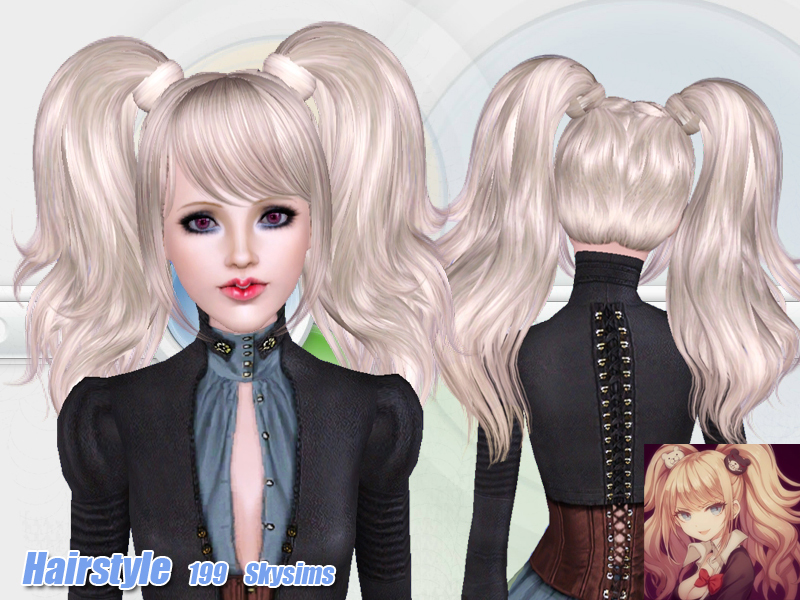 Skysims Hair 199