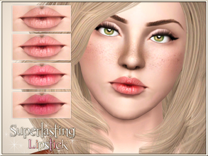 Sims 3 — Superlasting Lipstick by Pralinesims — New realistic lipstick for your sims! Your sims will love their new look
