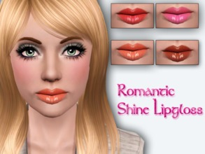 Sims 3 — Romantic Shine Lipgloss by Brittany06082 — A romantic lipgloss with a bit of shine for your sims Cas Thumbnail