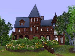 Sims 3 — Wyndcliffe Mansion by cm_11778 — Wyndcliffe is inspired by a real life mansion that has been left to ruin in the