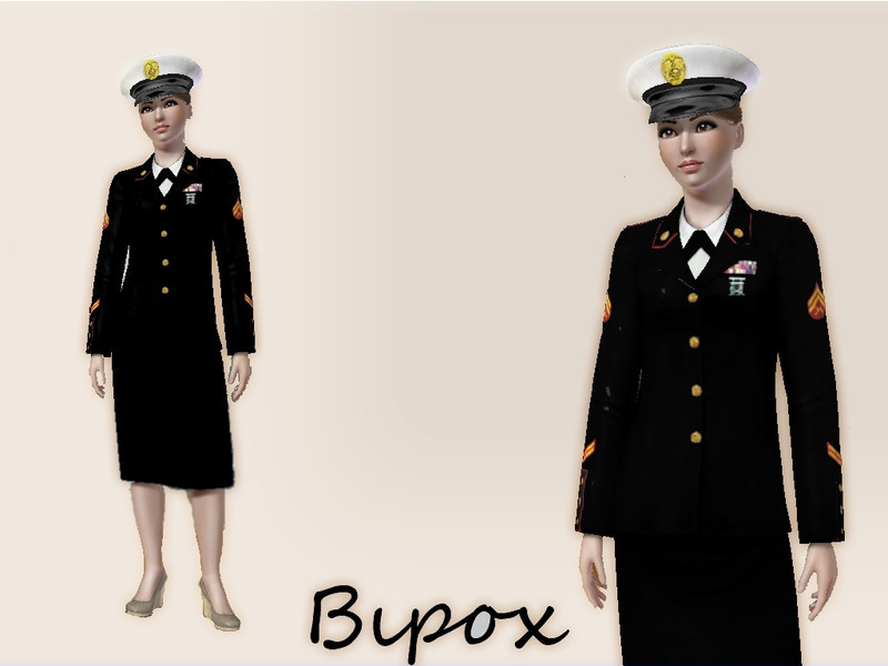 Byron182s Us Marine Dress Blues Full Body