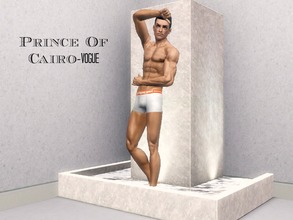 Sims 3 — Raja by tazmagondia2 — An Egyptian Model from Cairo. He comes from a family of wealth and fame across Egypt and