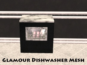 Sims 2 — Glamour Dishwasher Mesh by staceylynmay2 — Dishwasher