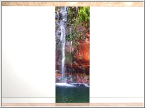 Sims 3 — Gentle Falls panel 3_marcorse by marcorse — Gentle Falls wall set panel 3 of 4
