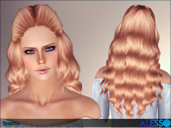 Alesso Sims 4 Curly Hair