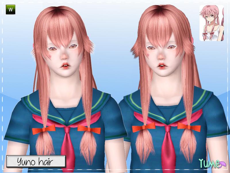 Zauma S Yume Yuno Hair