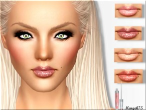 Sims 3 — Stay Glossy  by Margeh-75 — - a shiny glossy lipgloss for your sim girls -3 recolourable channels -adjust shine
