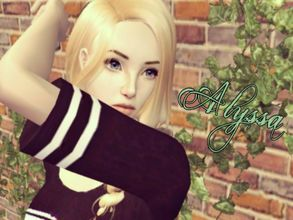 Sims 2 — ☁ Alyssa ☁ by AraSims2 — Been gone for awhile ;; But! here\'s a gift.