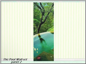 Sims 3 — The Pool 2_marcorse by marcorse — Beautiful meditation setting in mountain greenery - The Pool Wall-set part 2
