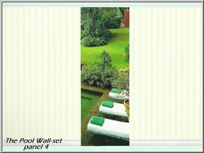 Sims 3 — The Pool 4_marcorse by marcorse — Beautiful meditation setting in mountain greenery - The Pool Wall-set part 4