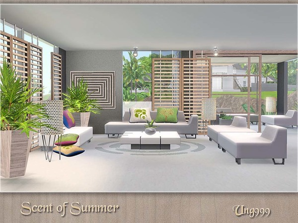 sims 2 living room sets ung999 s scent of summer 23543